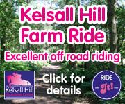 Kelsall Hill Farm Ride (Shropshire Horse)